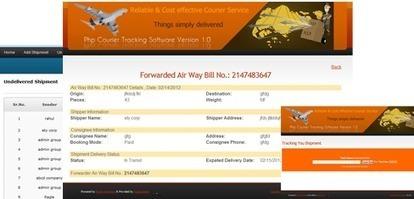 Courier Tracking Software, Courier Tracking Software India, Courier Tracking Script   php scripts clone market   Scoop.it