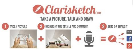 Clarisketch. Application pour ajouter audio et notes à une image | Education 2.0 | Scoop.it