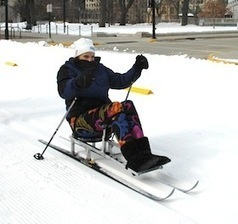 Adaptive ski project gives people with disabilities a new chance to participate - University of Wisconsin-Madison | Assistive Technology in Use | Scoop.it