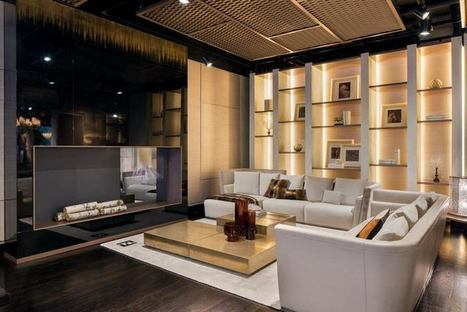 Fendi Casa opens a new showroom in the heart of Manhattan   Home Decor   Scoop.it