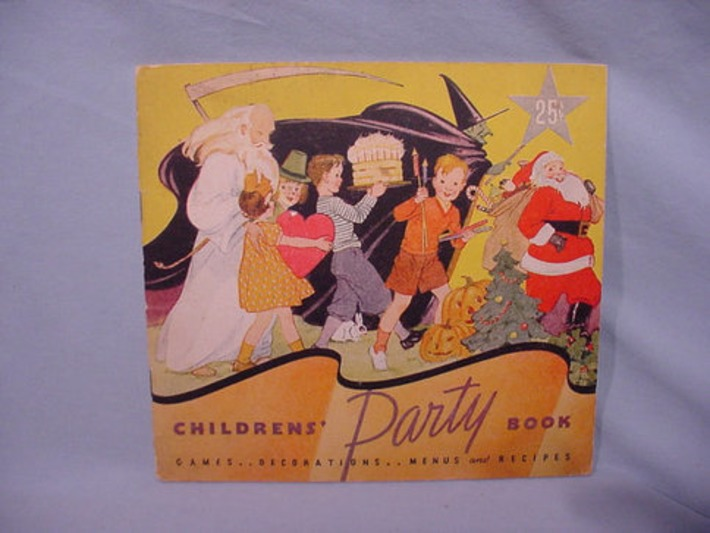 Staley Mfg Advg. Booklet Childrens Parties © 1935 Valentine Christmas Halloween etc. | Antiques & Vintage Collectibles | Scoop.it