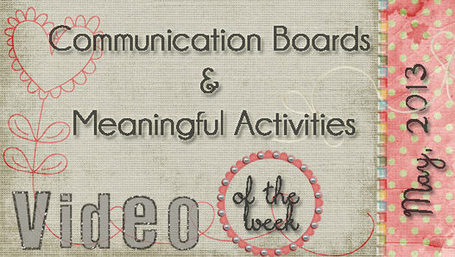 Communication Boards & Meaningful Activities | Communication and Autism | Scoop.it