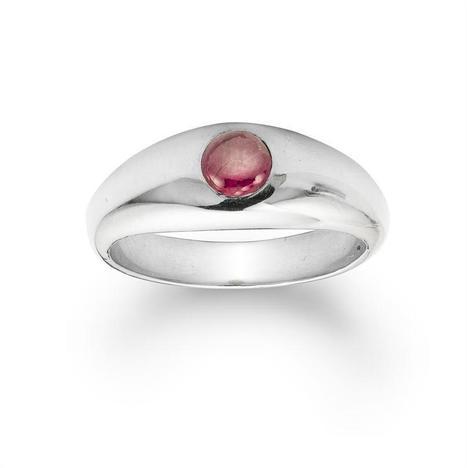 A cabochon Burma ruby set platinum gypsy ring - Bentley & Skinner | Bentley And Skinner | Scoop.it
