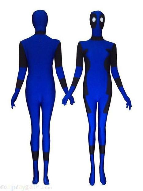 2013 Blue and Black New Desgin Deadpool costume - 2013 Blue and Black New Desgin Deadpool costume for sale | deadpool costume | Scoop.it