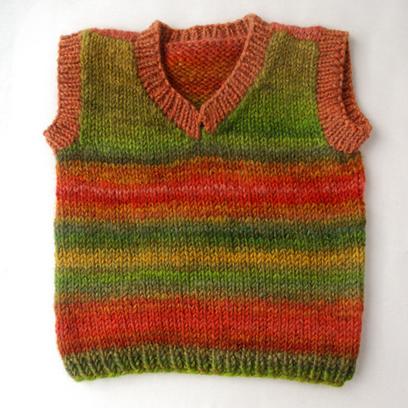 Project planning with handspun yarn: baby vests » Knit Picks Blog | Fiber Arts | Scoop.it