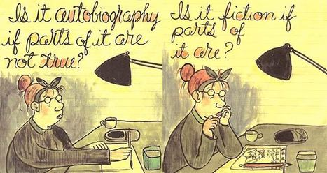 Penis Rays, Self-Loathing and Psychic Voodoo: Autobiographical Cartoonists on Truth and Lies | Ladies Making Comics | Scoop.it
