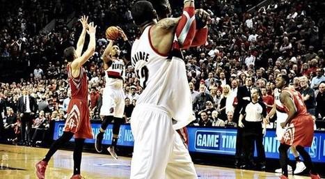 Top 5 NBA: l'incroyable shoot de la victoire de Damian Lillard   Basket ball , actualites et buzz avec Fasto sport   Scoop.it