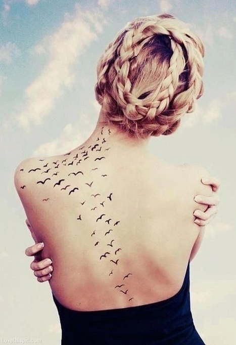 35 Lovely Tattoos for Girls | Cuded | Illustration | Scoop.it