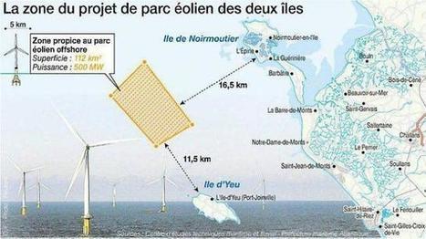Vendée. Dans 10 ans, des éoliennes prévues au large des ïles | Systèmes énergétiques du futur | Scoop.it