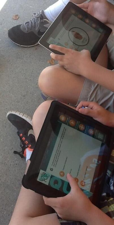 Twitter / mrphillips2014: Using the iPads for digital ... | BYOD iPads | Scoop.it