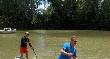 Le stand-up paddle en eaux vives | Visit Haut Minervois | Scoop.it
