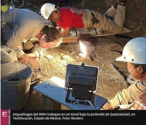 Descubren mercurio líquido en túnel de Teotihuacan | Arqueología, Historia Antigua y Medieval - Archeology, Ancient and Medieval History byTerrae Antiqvae (Blogs) | Scoop.it