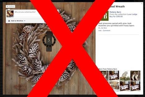 """Fin des """"Collections"""" : Facebook ne veut plus du bouton Want ?   Rue des médias sociaux   Scoop.it"""