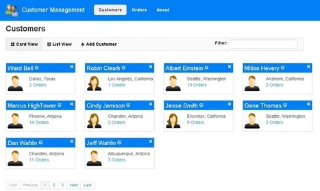 Learning AngularJS by Example – The Customer Manager Application | Angularjs | Scoop.it