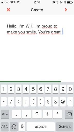 Wordeo, l'application révolutionnaire qui transforme vos mots en vidéo | News from net | Scoop.it