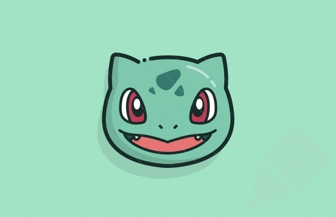 Vector Pokémon Faces : Medialoot