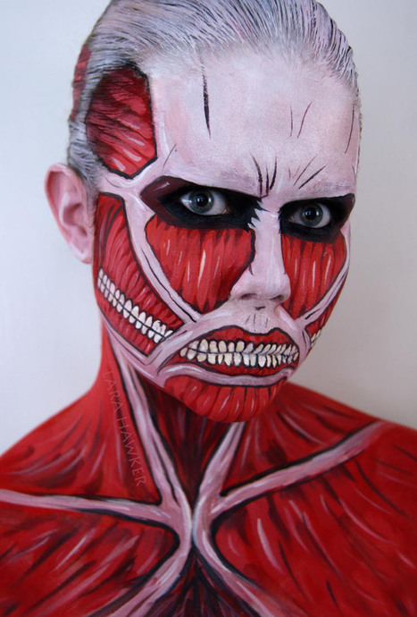 Delightful and Macabre Body Art by Lara Hawker   Tattoos & Body Art   Scoop.it
