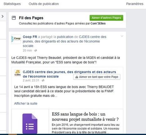 Facebook : mais où est-donc passé le fil d'actualités des Pages ? | Médias sociaux | Scoop.it