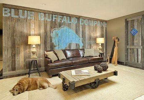 DIY Wood Walls: Inspiration & How to Install Them | Designing Interiors | Scoop.it