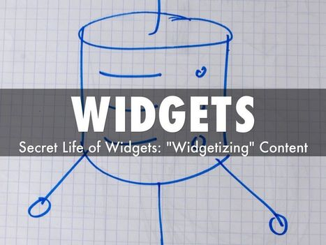 Will Widgets Inherit the Web? via @HaikuDeck | Curation Revolution | Scoop.it