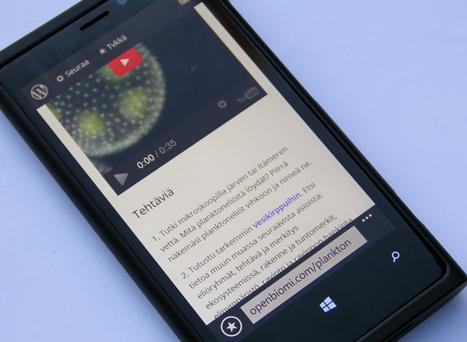 Oma älypuhelin voi olla hyvä oppimisväline | Tablet opetuksessa | Scoop.it