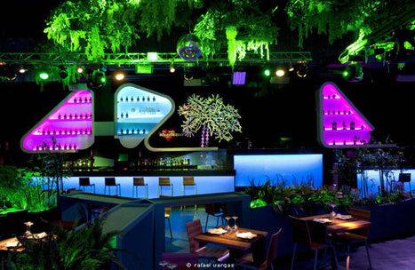 Beautifully Colored Lounge Club in Spain | Urban Design | Scoop.it