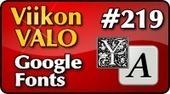 5x11 Google Fonts - Viikon VALO #219 | Viikon VALO | Google Apps For Education | Scoop.it