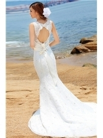 $ 256.99 Grand Mermaid/Trumpet Scoop Strapless Lace  Wedding Dress   wedding  and event   Scoop.it