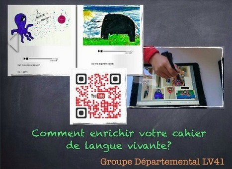 Usages de la tablette à l'école. Comment enrichir votre cahier de langue vivante? | computer mediated communication | Scoop.it