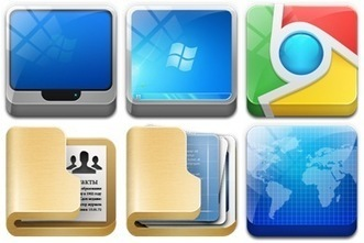 Icon Archive - Search 366,293 free icons, desktop icons, download icons, social icons, xp icons, vista icons | Learning about Technology and Education | Scoop.it