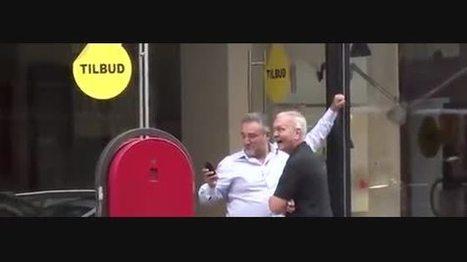 Mulher anda na rua com Tshirt chanel pintada no corpo - SAPO Vídeos | Lukcudi | Scoop.it
