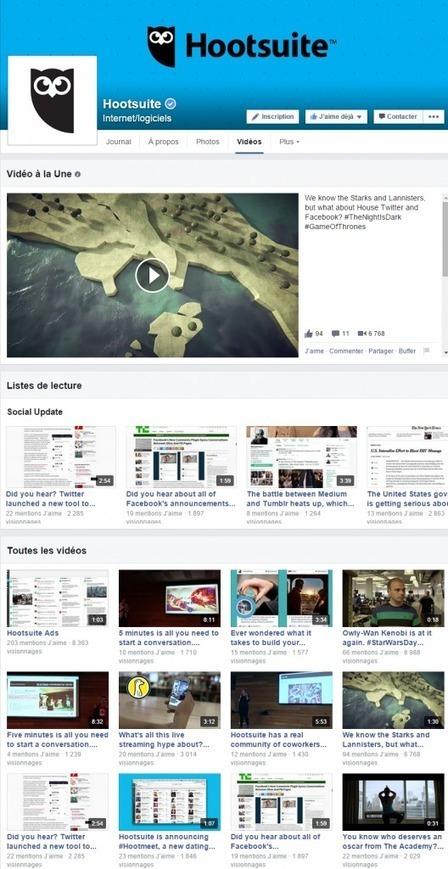 7 raisons de diffuser ses vidéos sur Facebook plutôt que sur Youtube - Markentive | Marketing et Communication Innovante | Scoop.it