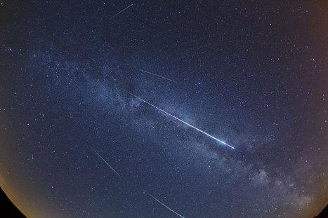Perséides dans la Voie lactée - L'image d'astronomie du jour - APOD | Astro | Scoop.it