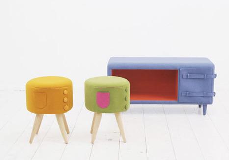 Des meubles en feutre pour les enfants | MyDz | Laines | Scoop.it