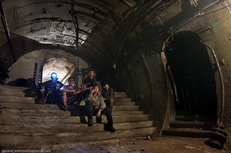 abandonedplaces: Abandoned subway tunnels   Modern Ruins   Scoop.it