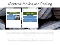 Montreal Moving and Packing | Montreal Moving and Packing | Scoop.it