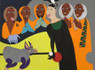 Nina Chanel Abney's Twisted Rituals   Contemporary African American Artists   Scoop.it