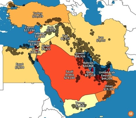 7 Maps to Help Make Sense of the Middle East | Arabian Peninsula | Scoop.it