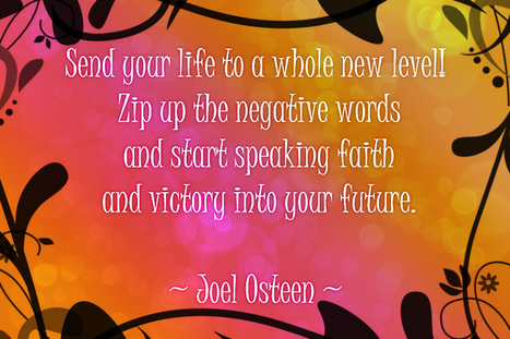 Life Notes: Speak about FAITH and VICTORY into your future   Life Notes   Scoop.it