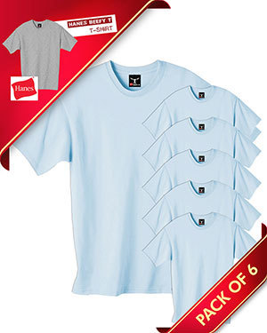 Save Up to 50% Off With Pack Of 6 Hanes beefy t-shirts | Gotapparel | Scoop.it