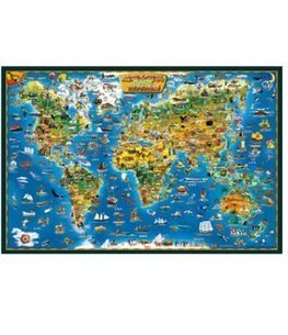 Educational toys English world map 1500 pieces of wooden jigsaw puzzle for kids | Buytra.com | Toys and Games | Scoop.it