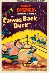 Walt Disney's original 1953 Donald Duck movie poster | Conway's Vintage Treasures | Scoop.it