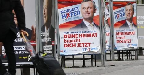 En Autriche, l'extrême-droite en tête du premier tour de l'élection présidentielle - Les Inrocks | Triangle Rouge - Résistez aux idées d'extrême droite | Scoop.it
