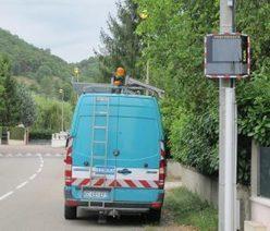 Lundi 29 août 2016: un radar pédagogique installé route d'Ambronay | Radar Pédagogique | Scoop.it