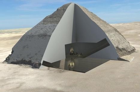 Análisis muestran la estructura interna de la pirámide acodada de Dahshur | Arqueología, Historia Antigua y Medieval - Archeology, Ancient and Medieval History byTerrae Antiqvae | Scoop.it