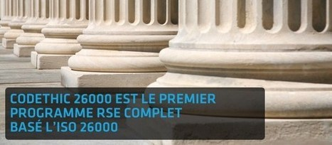 CODETHIC :: CHECK YOUR COMMITMENT » À l'heure du développement durable | RSE et business | Scoop.it