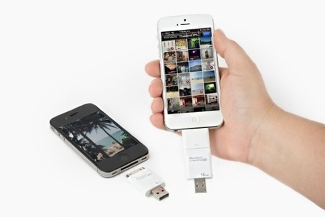 The iFlash Drive Slurps Excess Photos *Off* Your iPhone | Cult of Mac | Edtech PK-12 | Scoop.it