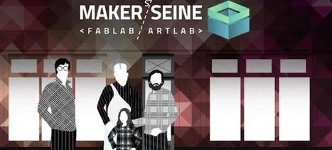 Un premier Fablab parisien dédié aux artistes | La Reconversion des Friches Industrielles en Lieu Culturel et en Espace de Coworking | Scoop.it