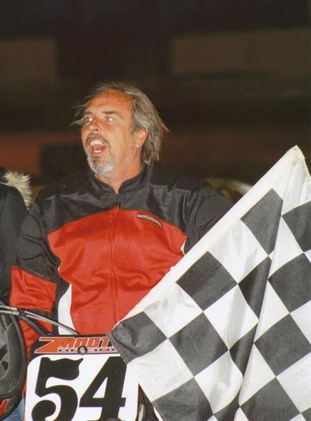 2008 WCFTS Antioch Saddleman Vintage Class winner Wayne Karcich.  As always, he... | California Flat Track Racing | Scoop.it