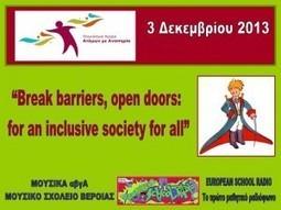 Παγκόσμια Ημέρα Ατόμων με Αναπηρία – 3 Δεκεμβρίου 2013 – Ηχογράφησε το δικό σου μήνυμα ! » European School Radio | Απάνθισμα | Scoop.it